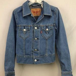 Levi's Womens Denim Trucker Jacket Size Small